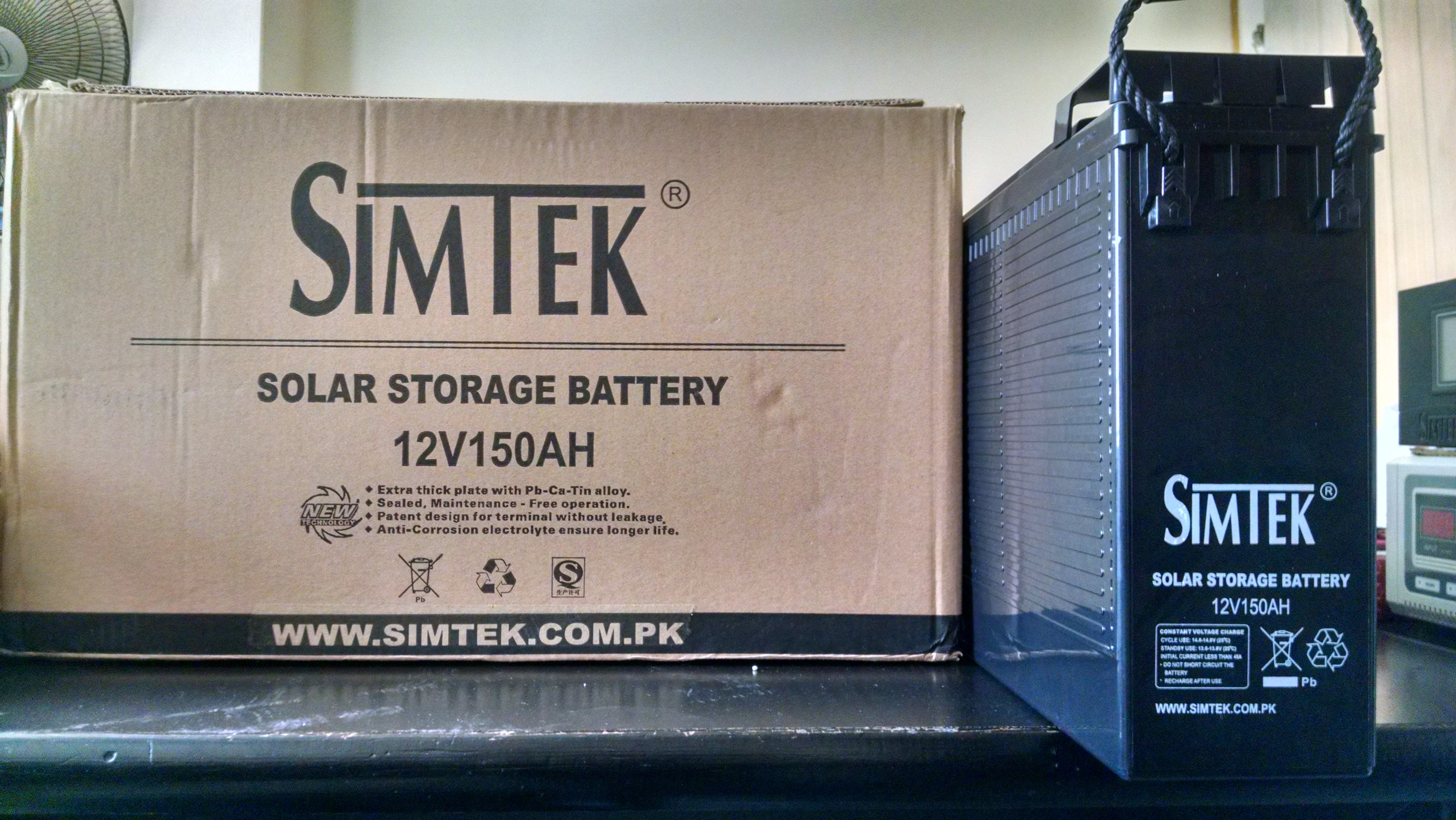 SIMTEK DEEP CYCLE SOLAR STORAGE BATTERIES