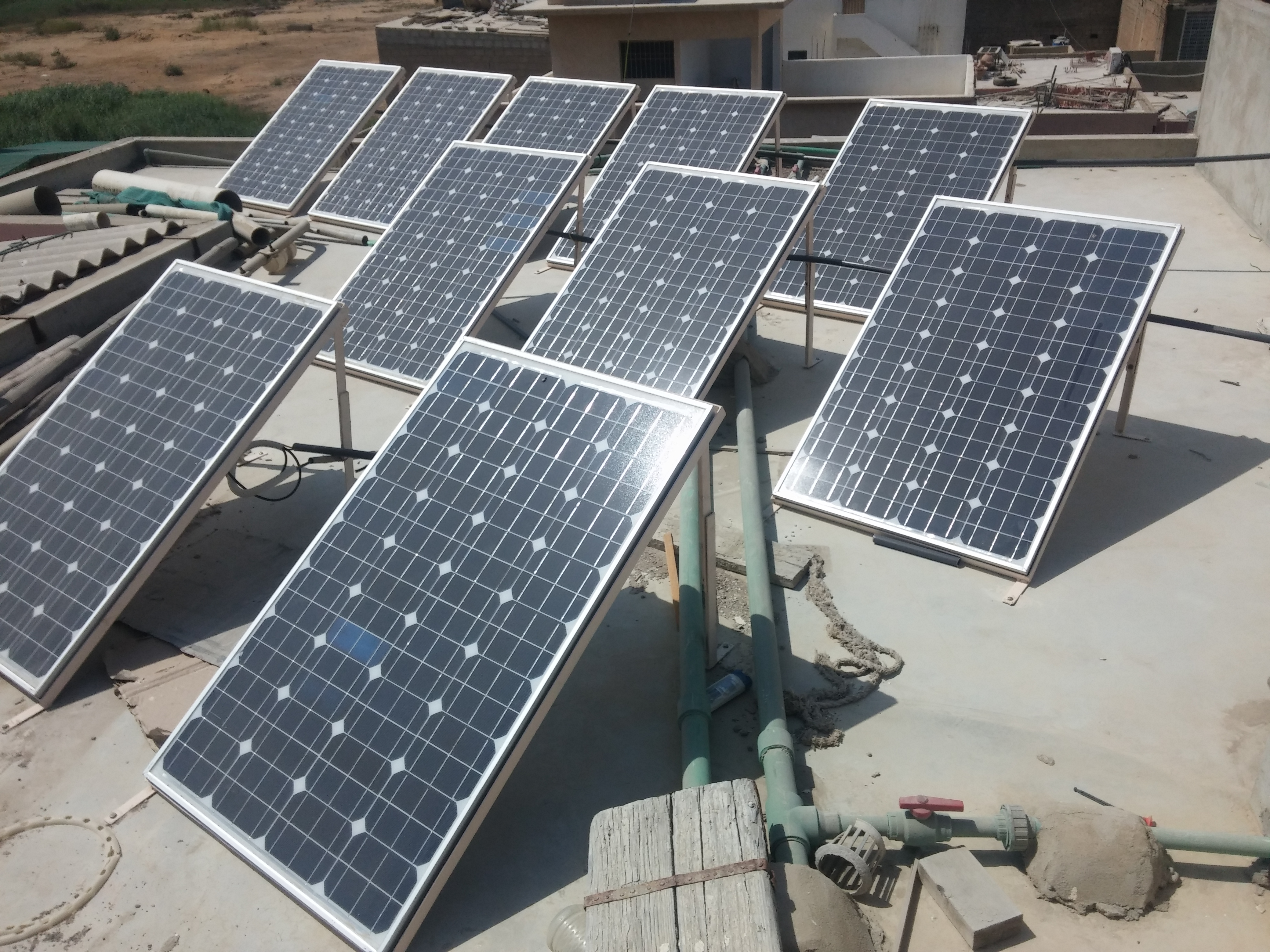 Off Grid Home Solar System at Korangi Crossing Karachi