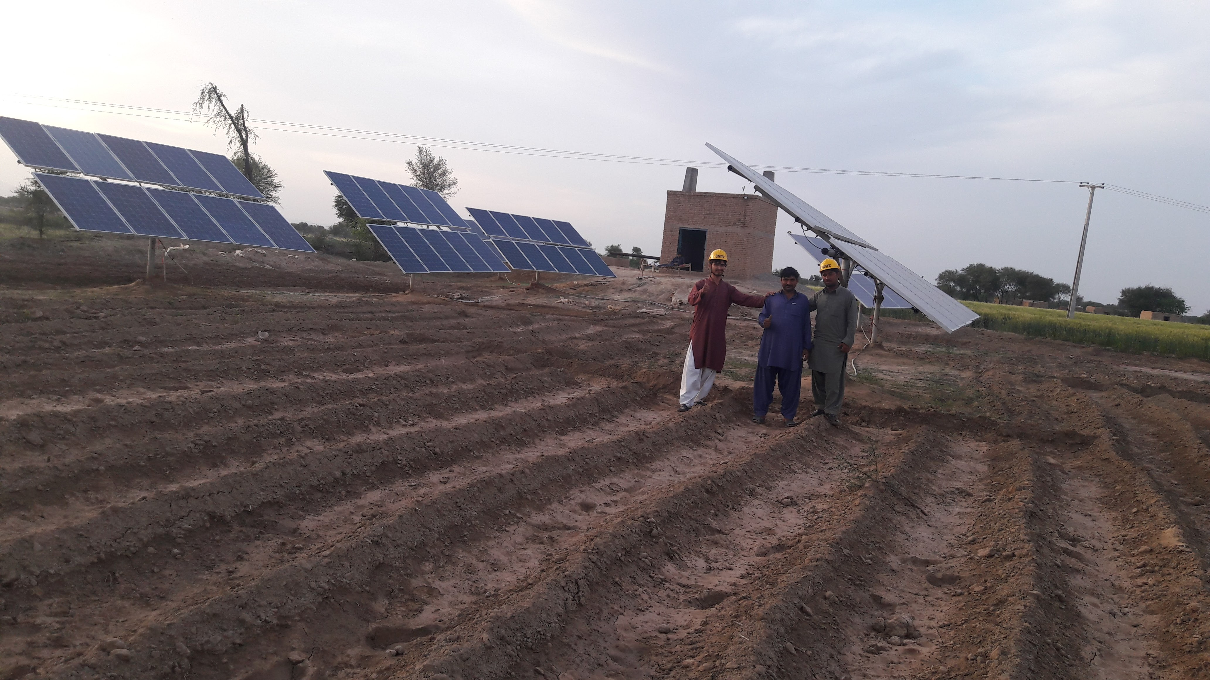 Solar Irrigation System Installed in District Layyah