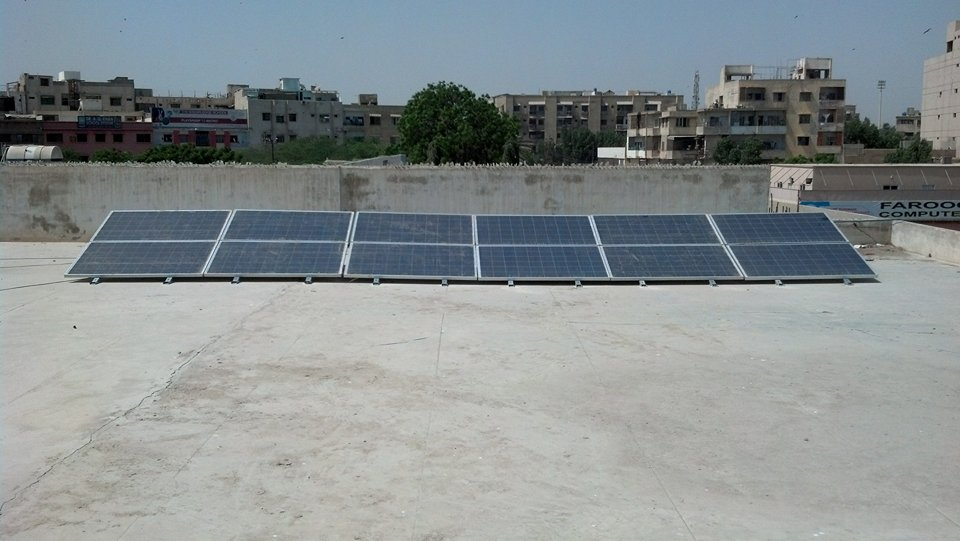 Hybrid Solar System at Mosque North Nazimabad.